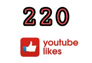 220+ YOUTUBE LIKES NON DROP AND REAL ORGANIC WITH LIFE TIME GUARANTEED (SUPER FAST)
