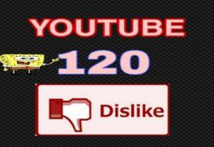 Youtube 120+ dislike Real High-Quality Work