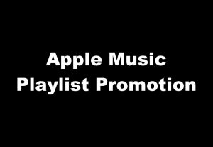 Your track on an Apple Music Playlist playing 24/7 for one month