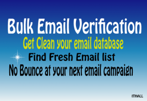Clean email database to avoid bounce email