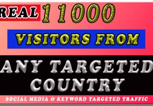 11000 ANY TARGETED COUNTRY TRAFFIC