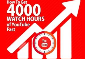 REAL 4000 YOUTUBE WATCH HOURS TIME FOR YOUR YOUTUBE CHANNEL
