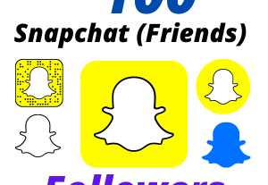 I will Add 100 Snapchat Followers High-Quality Lifetime Guarantee