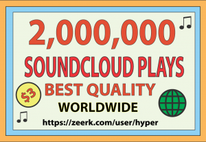 2,000,000 SOUNDCLOUD GLOBAL PLAYS