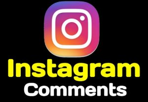 I will provide you 100+ Instagram Comments Instant, Non-drop, active user, and lifetime guaranteed