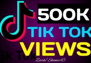 Get 500K+ TikTok Organic Views, Real Active User, High Quality, Non-drop, Lifetime User Guaranteed