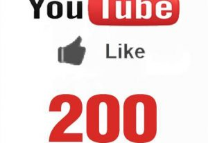 Get You 200+ NonDrop YouTube Likes Lifetime Guaranteed