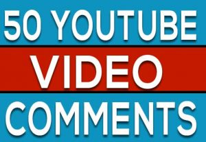 50+ YOUTUBE CUSTOM VIDEO COMMENTS , NON DROP GURANTED