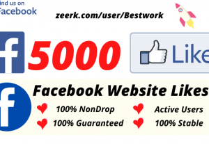 I will Add 5000 Facebook Post/Photo Likes NonDrop Lifetime Guaranteed