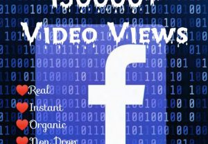 Promote your Facebook Post with 150000+ Video Views at Instant with High quality Promotions,Real and 100% Organic.