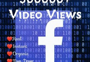 Promote your Facebook Post with 500000+ Video Views at Instant with High quality Promotions,Real and 100% Organic.