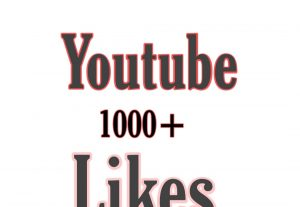1000+ Youtube Likes non drop life time