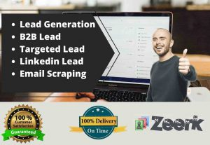 I Will Work as Virtual Assistant for Lead Generation and Data Entry