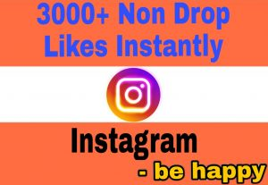 Add 3100+ Organic and 100% Non Drop Likes Instantly