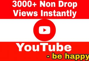 Add 3000+ High Quality,  Super Fast and 100% Non Drop Views Instantly