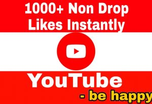 Add 1000+ Non Drop,  High Quality YouTube Likes