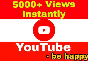 Add 5000+ High Quality,  Non Drop Views Instantly