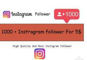 Get 1000+ Instagram Real Active Account Follower