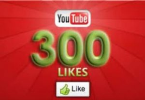300+ YOUTUBE LIKES NON DROP AND REAL ORGANIC WITH LIFE TIME GUARANTEED