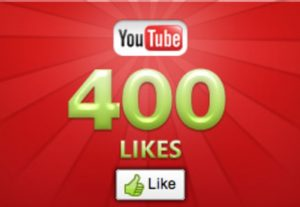 400+ YOUTUBE LIKES NON DROP AND REAL ORGANIC WITH LIFE TIME GUARANTEED