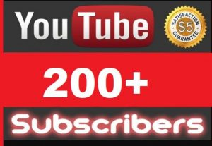 I Will Promote 200+ YouTube Subscribe in Your Channel and 300 views for free, Non-Drop, Real Active Users Guaranteed