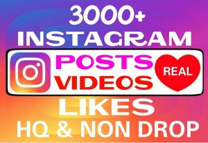 Add 3000+ Instagram Likes instantly