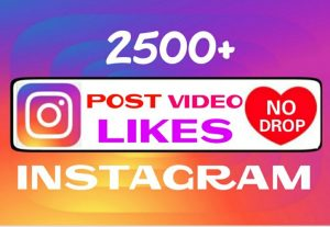 Add 2500+ non drop Instagram Likes instantly