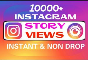 Add 10000+ Instagram Story Views instantly