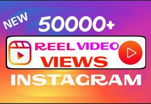 Add 50000+ Instagram REEL views instantly
