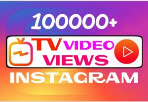 Add 100000+ TV video views instantly