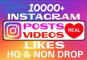 Add 10000+ Instagram non drop Likes professionally
