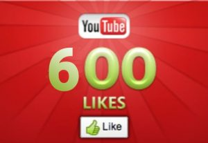 600+ YOUTUBE LIKES NON DROP AND REAL ORGANIC WITH LIFE TIME GUARANTEED