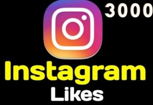 Get 3000+ Instagram Likes Instant, active user, Non-drop, and lifetime guaranteed