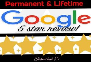 I will give you a lifetime guaranteed 5-star google review for your website