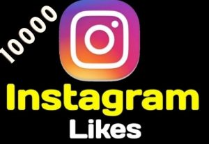 Get 10000+ Instagram Likes Instant, active user, Non-drop, and lifetime guaranteed