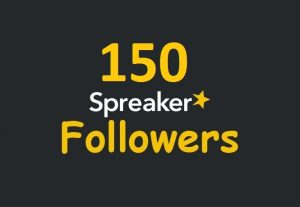 ADD 150+ SPREAKER FOLLOWERS REAL ORGANIC, HIGH QUALITY PROMOTION WITH NON DROP GUARANTEED SUPER