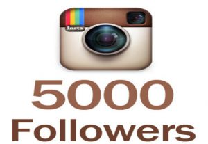 i will give you 5000+ Instagram Followers 100% Non Drop guaranteed