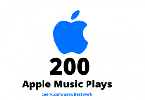 I will add 200 Apple Music Plays Lifetime Guaranteed