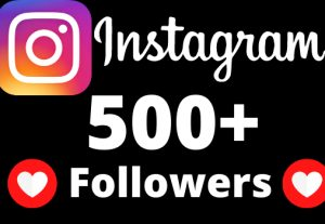 I will add 500+ Instagram followers.