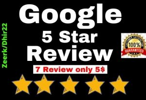 Provide 7+ Permanent Google website Review only 7$ the USA Profile Or Worldwide