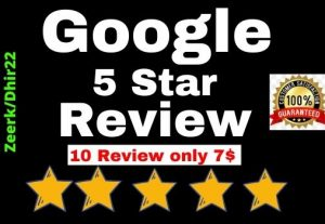 Provide 10+ Permanent Google Website Review only 7$ the USA Profile Or Worldwide