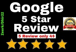 Get 5+ Permanent Google website Review only 5$ the USA Profile