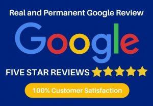 I Will Provide You 3 Permanent Google Reviews