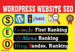 I will do wordpress SEO optimization to your website