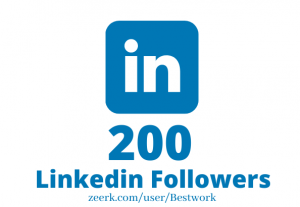 I will Add 200 Linkedin Followers NonDrop Lifetime Guaranteed