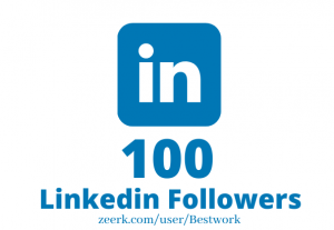 I will Add 100 Linkedin Followers NonDrop Lifetime Guaranteed