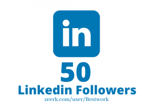 I will Add 50 Linkedin Followers NonDrop Lifetime Guaranteed