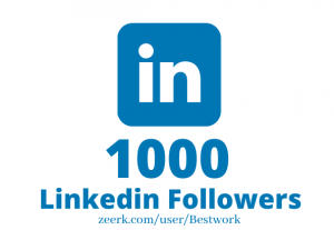 I will Add 1000 Linkedin Followers NonDrop Lifetime Guaranteed