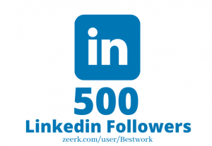 I will Add 500 Linkedin Followers NonDrop Lifetime Guaranteed