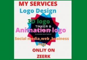 I Will Design all type of logo
